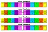 Decimal Place Value Desk Chart