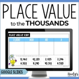 Place Value Distance Learning Using Google Slides