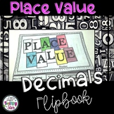 Decimal Place Value Flip Book