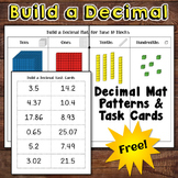 Decimal Place Value Freebie