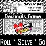 Decimal Place Value Game: 5th Grade Math Game