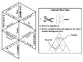 Decimal Place Value Game: Math Tarsia Puzzle