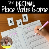 Decimal Place Value Game: Tenths, Hundredths, Thousandths