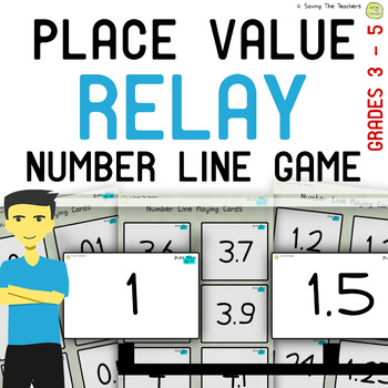 Decimal Place Value Game and Worksheets