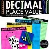 Place Value Games: Decimal Number Sense