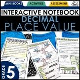 Decimal Place Value Interactive Notebook Set