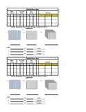 Decimal Place Value Interactive Notebook Sheet