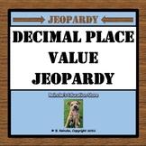 Decimal Place Value Jeopardy