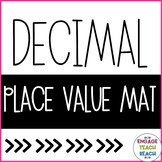 Decimal Place Value Mat