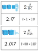 Decimal Place Value Match Up (Thousandths)