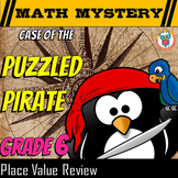 6th Grade Decimal Place Value Math Mystery Activity: Case