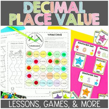 Decimal Place Value Math Workshop Lesson Plan Unit