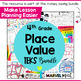 Decimal Place Value Model Cards for Matching, Memory or Go