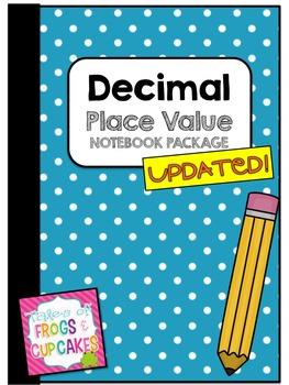 Decimal Place Value Notebook BUNDLE
