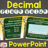 Decimal Place Value Lesson PowerPoint