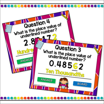 Decimal Place Value Powerpoint Game