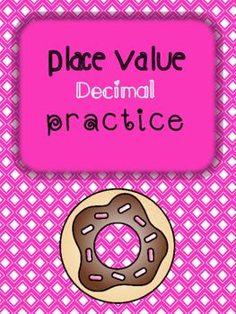 Decimal Place Value Practice