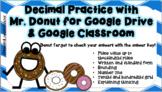 Decimal Place Value Practice for Google Drive & Google Classroom