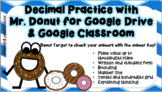 Decimal Place Value Review Practice for Google Drive & Goo