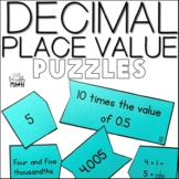 Decimal Place Value Puzzles