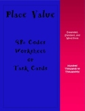 Decimal Place Value QR Codes