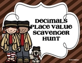 Decimal Place Value Scavenger Hunt