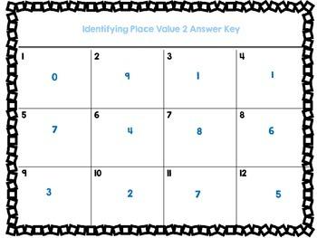 Decimal Place Value Set Two-12 Task Cards