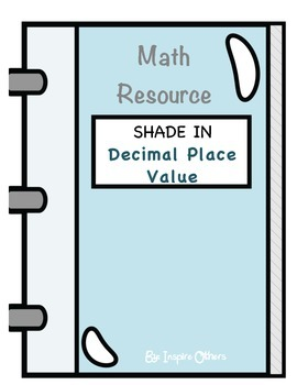 5.NBT.3 Decimal Place Value Shade In