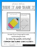 Decimal Place Value Solve It & Shade It (A Color by Number Activity)
