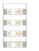 5.NBT.3 Decimal Place Value Cards - Stacking