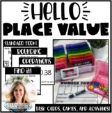 Decimal Place Value Task Cards and Activities