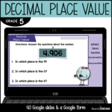 Decimal Place Value | Google Classroom | 5th Grade