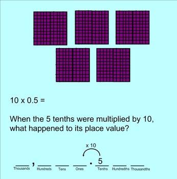 Decimal Place Value in Base Ten SMARTnotebook