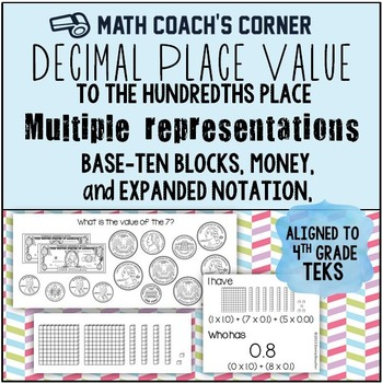 Decimal Place Value with Multiple Representations