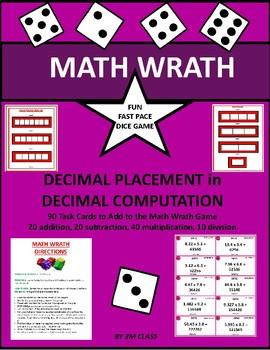Decimal Placement Math Wrath