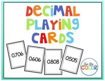 Decimal Playing Cards