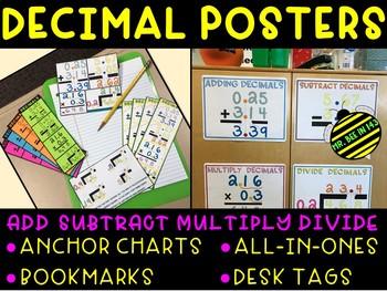 Decimal Posters & Anchor Charts