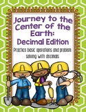 Decimal Practice: Journey to the Center of the Earth