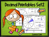 "Decimal Place Value Set 2 ""Models, Symbols, and Number Line"""