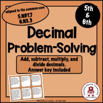 Decimal Problem Solving