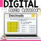 Decimal Problem Solving Tasks for Google Classroom