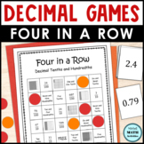 Decimal Recognition Four in a Row Games