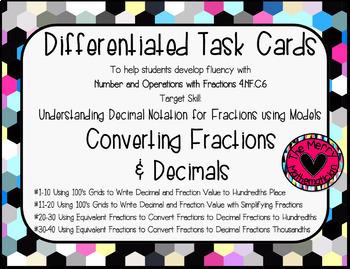 "Decimal Resources ""Forever"" Bundle (Games, Activities, & Task Cards) Grades 4-6"
