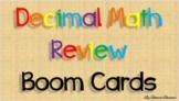Decimal Review Boom Cards