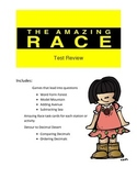 Decimal Review Game: Amazing Race Theme