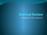 Decimal Review Powerpoint