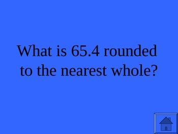 Decimal Rounding Jeopardy