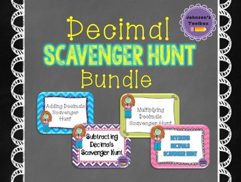 Decimal Scavenger Hunt Bundle - Decimal Games