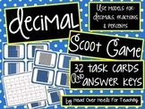Decimal Scoot Game {Task Cards}