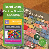 Decimal Snakes and Ladders Board Game